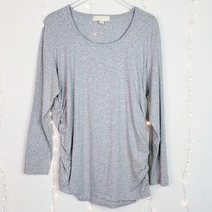 Michael Kors | Long Sleeve Shirt W/ Side Zipper 2X